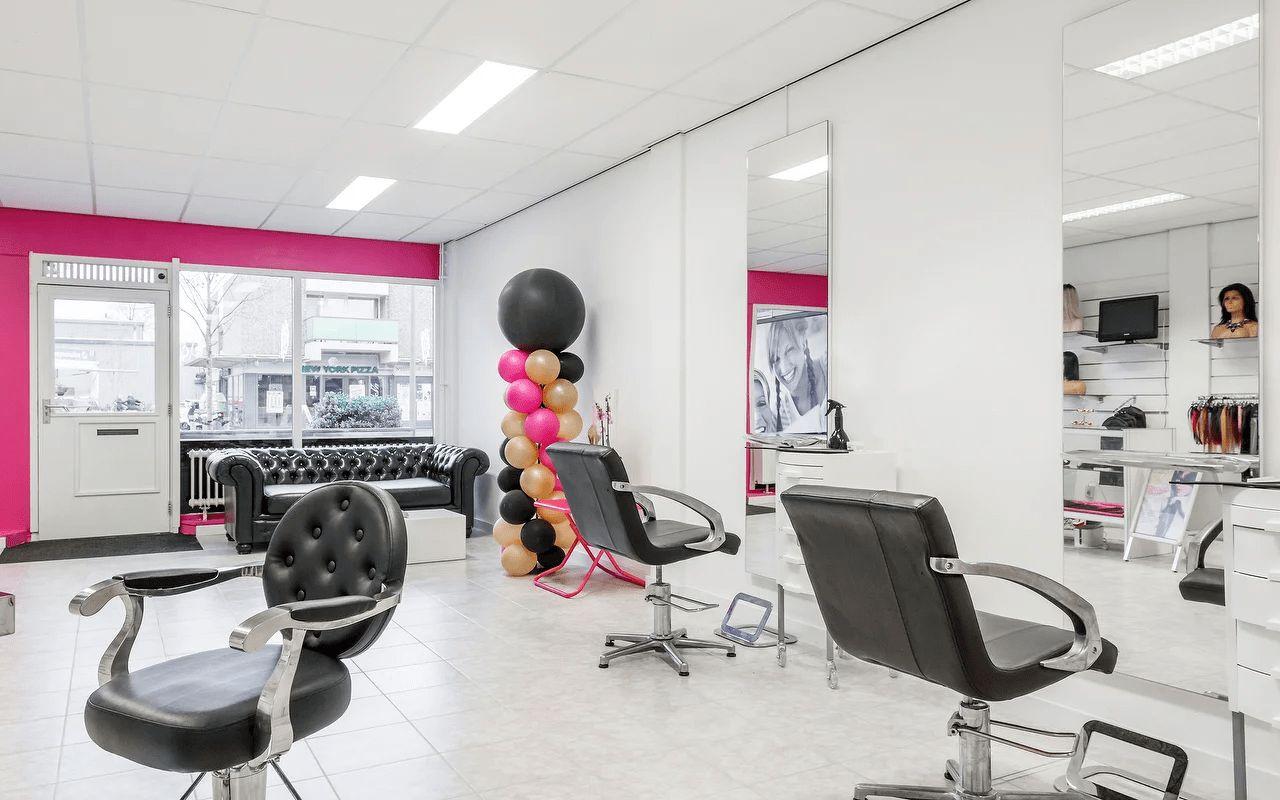 Afbeelding interieur Salon Btrenz Hair